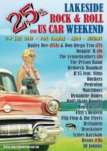 Idén 25 éves a Lakeside Weekend Rockabilly Fesztivál